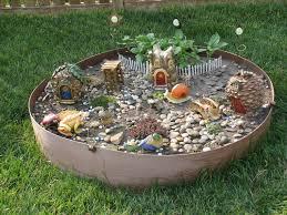 Small Picture Outdoor Fairy Garden Ideas