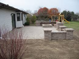 bobs grading paver patio and fire pit paver patio with fire pit