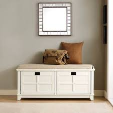 white entryway furniture. crosley adler entryway bench in white furniture