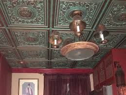 How To Install Decorative Ceiling Tiles Rhine Valley Faux Tin Ceiling Tiles Drop In 100 X100 VC 100 Elegant 61