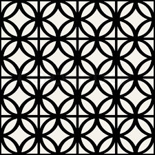 Abstract, geometric background, modern seamless pattern, wrapping paper,  60s, 70s fashion style, black and white trendy fabric, simple ornaments,  template, ...