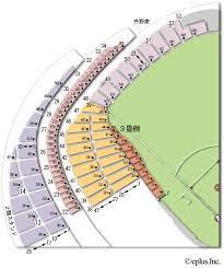 東京 ドーム 座席 表 詳細