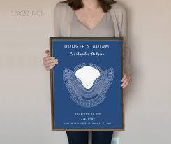 Dodger Stadium Seating Chart Los Angeles Dodgers Dodger