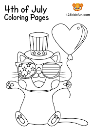 Free printable coloring pages for kids! 34 4th Of July Coloring Sheet Free Printable Coloring Pages