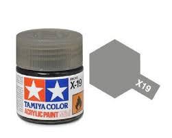 Amazon Com Tamiya Models X 19 Acrylic Paint Smoke 23ml