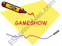 Esl English Powerpoints Gameshow