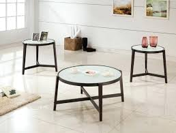 3 piece coffee table set espresso frosted glass 3 occasional table set 3 piece coffee table