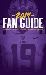 Lsu Feti Certification Chart 2019 Lsu Football Fan Guide By Lsu Athletics Issuu
