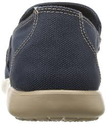 Crocs Rx Crocs Mens Sntcrzclncutlfr Loafers Blue Navy
