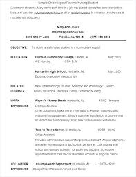 Free Student Resume Best Of Nursing Student Resume Template Free Samples Examples Format Word
