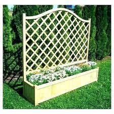 patio planter with trellis wooden planters gallery of box pl lattice pati