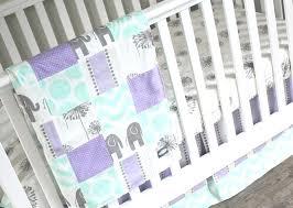 mint green baby bedding sets purple crib bedding mint lavender baby girl bedding crib mint green
