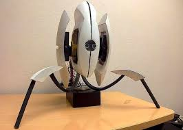 diy portal sentry turret created with a little arduino