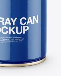 Today's collection is really super for multifaceted designers and creative people! Opened Glossy Spray Can Mockup In Can Mockups On Yellow Images Object Mockups