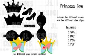 Christmas gift card holder svg template. Princess Glass Slipper Bow Template Graphic By Jl Designs Creative Fabrica