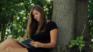 beautiful girl book.  Beautiful Beautiful Girl In A Dress Sits Park Under Tree Reading Book The  Sun Stock Video Footage  Videoblocks Intended Beautiful Girl Book H