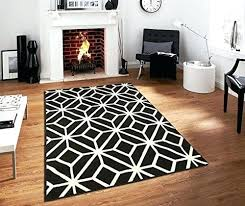 white rug 5x7 amazing home design awesome black and rugs on com contemporary for living