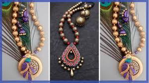 earrings terracotta jewellery designs earrings necklace terracotta clay jumkas fashion wing