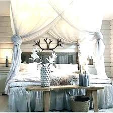 Canopy Bed Curtains Drapes For Canopy Bed Poster Bed Curtains Four ...