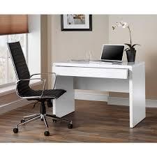white home office desk. Luxor Gloss Workstation/Desk With Hidden Drawer White - Home Office Desks Furniture \u0026 Storage Desk U