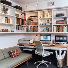 apartment home office. Trendy Carpeted Study Room Photo In DC Metro With White Walls. Save Photo.  Contemporary Home Office Apartment Home Office L