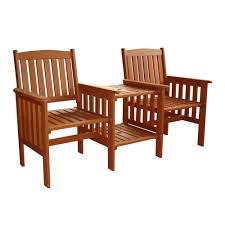 Garden & Patio Furniture Sets <b>2 SEATER</b> WOODEN COMPANION ...