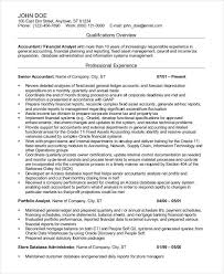 Professional Accounting Resume Musiccityspiritsandcocktail Com