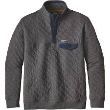 Patagonia Cotton Quilt Snap-T Fleece Pullover - Men's ... & Patagonia - Cotton Quilt Snap-T Fleece Pullover - Men's - Forge Grey Adamdwight.com