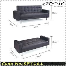 full size sofa bed measurements dimensions one person furniture