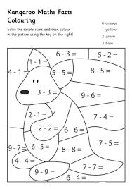 Math Coloring Pages Printable Colouring Worksheets For Grade 3 ...