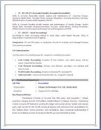 Outstanding Sap Fico Sample Resume 3 Years Experience 90 About