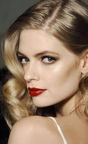 film noir makeup noir hollywood hair cabello hair fashion beauty tips