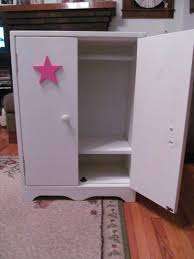 american girl armoire plans