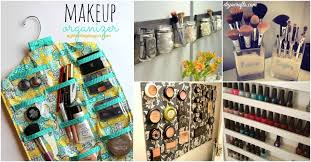 21 DIY Makeup Organizing Solutions that'll Change Your Whole Beauty Regimen  - DIY & Crafts