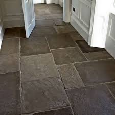 Flagstone Flooring Kitchen Interior Flagstones