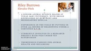 elevator pitch aspiring veterinary student applicant elevator pitch aspiring veterinary student applicant