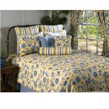 yellow and blue comforter set cherborg fl bedding collection 19