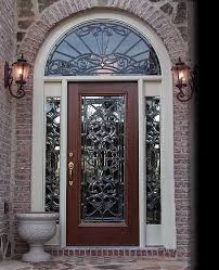 Contemporary Front Doors With Glass 1208Glass Front Doors