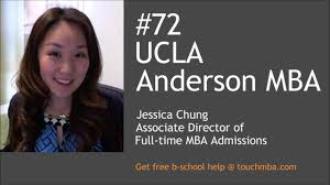 ucla anderson mba admissions interview jessica chung touch ucla anderson mba admissions interview jessica chung touch mba podcast
