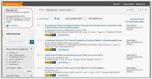 Web Of Science Social Sciences And Humanities Too Search Tips