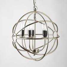 dazzling orb chandelier that enliven your home metal orb chandelier with four up lights fixture