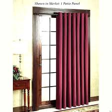 glass door curtains curtain over hanging vertical blinds sliding rod for oval front