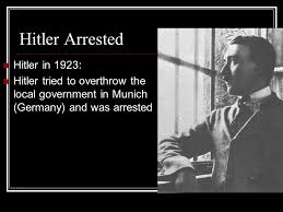 「1923, hitler arrested」の画像検索結果