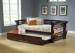 Amazon.com: Hillsdale Miko Wood Daybed with Trundle in Espresso ...