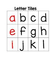 Letter Tiles Glitter And Glue 4 K 2 On Tpt Lettering