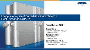 Pdf Lifecycle Analysis Of Brazed Aluminum Plate Fin Heat