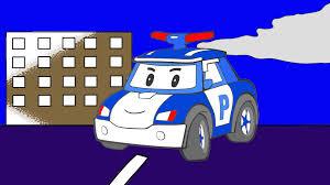 Les Couleurs Robocar Poli L H Licopt Re La Voiture De Police