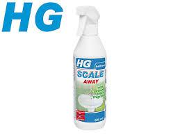 hg bathroom limescale remover foam spray cleaner scale away green fragrance500ml