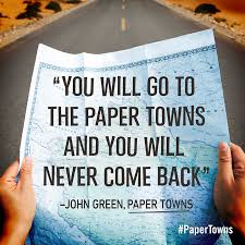Paper Towns Quotes Extraordinary Our 48 Favorite Quotes From PAPER TOWNS Penguin Teen
