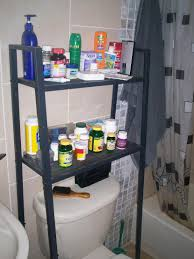 Over The Toilet Bathroom Shelves Lerberg Shelf Into Storage Over Toilet Unit Ikea Hackers Ikea
